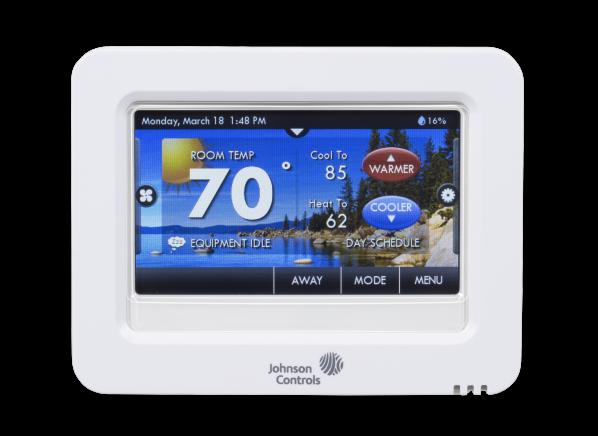 Johnson Controls T8590 thermostat