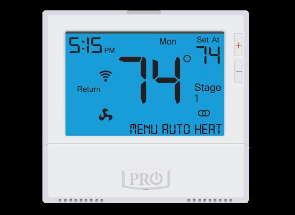 PRO1 IAQ T855S thermostat
