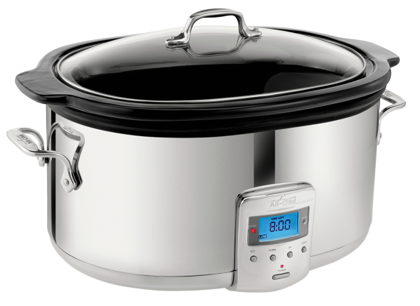 All-Clad SD700450 6.5 Qt. Programmable Oval-Shaped slow cooker
