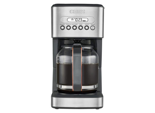 Crux Programmable 14540 Coffee Maker Consumer Reports