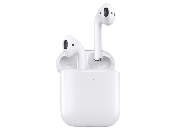 Apple AirPods (2nd Gen) with Wireless Charging Case headphone