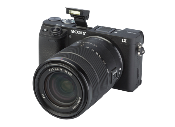 Sony Alpha a6400 w/ E 18-135mm camera