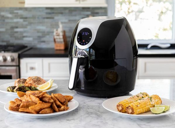 Magic Chef Xl Air Fryer With Touch Controls Mcaf56db
