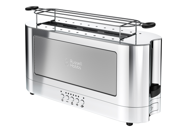 Russell Hobbs 2 slice Glass Accent TRL9300GYR toaster