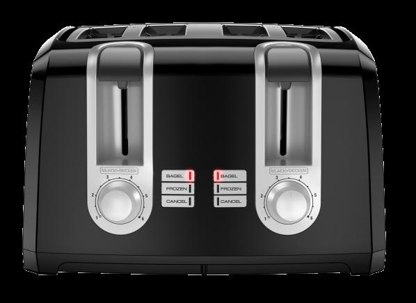 Black+Decker 4-Slice Extra Wide Slot T4569B toaster