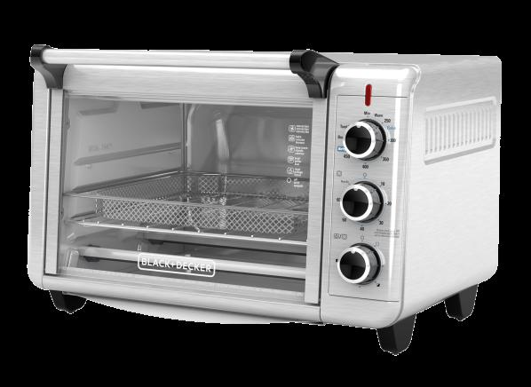 Black+Decker Crisp 'N Bake Air Fry Toaster Oven TO3215SS