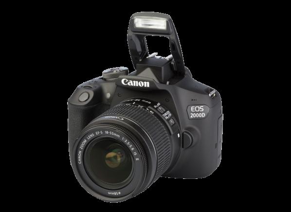 Canon EOS 2000D Rebel T7 w/ 18-55mm camera