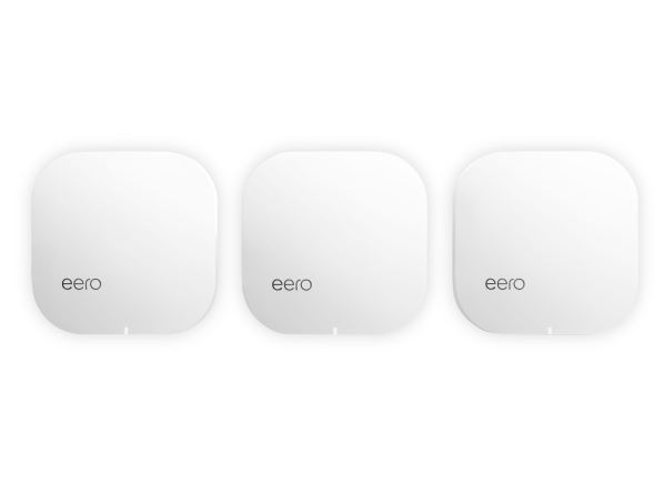 eero Home Wifi (2nd Gen) (3-pack) wireless router