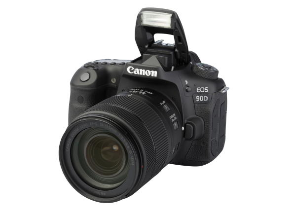 Canon EOS 90D w/ 18-135mm IS USM NANO camera