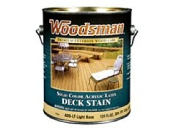 Woodsman Solid Color Deck Stain