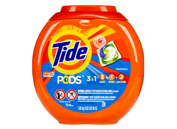 Tide Pods 3 In 1 Laundry Detergentlaundry Detergent Consumer Reports