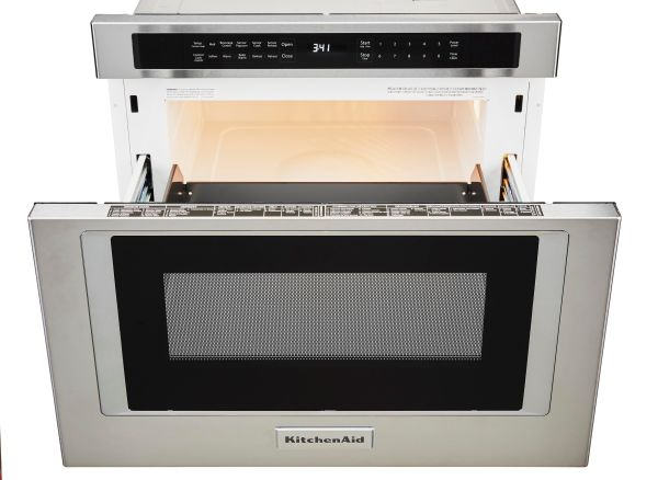 KitchenAid KMBD104GSS Microwave Oven - Consumer Reports