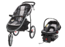 Graco FastAction Fold Jogger Click Connect Travel System thumbnail