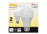 Utilitech 9 Watt 60W Equivalent A19 Warm White LED thumbnail