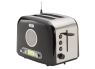 Elite Platinum 2 Slice Stainless Steel Radio Toaster ERT-6067 thumbnail