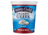 Stonyfield Organic Plain Whole Milk Greek Yogurt thumbnail