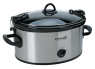 Crock-Pot 6-Quart Cook & Carry Manual Slow Cooker, SCCPVL600-S thumbnail