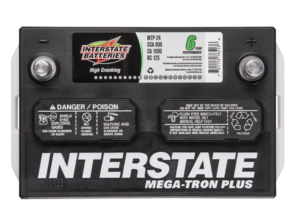 Interstate Megatron Plus Car Battery