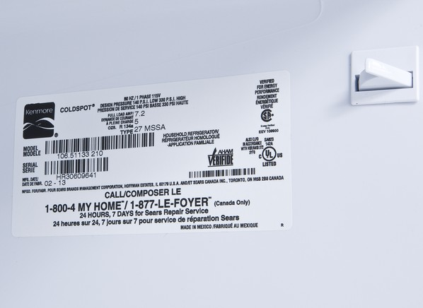 Kenmore 51133 Refrigerator Consumer Reports