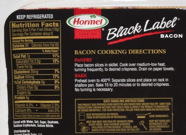 Hormel Black Label Original Bacon Consumer Reports