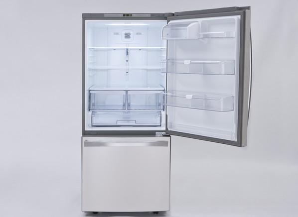 bottom freezer elite french refrigerator door