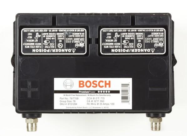 Consumer Reports Bosch Car Battery