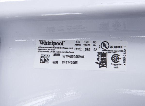 Whirlpool Cabrio Wtw8500dw Washing Machine Consumer Reports