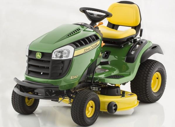 John Deere 240 Lawn Tractor : John deere s sport lawn mower tractor consumer
