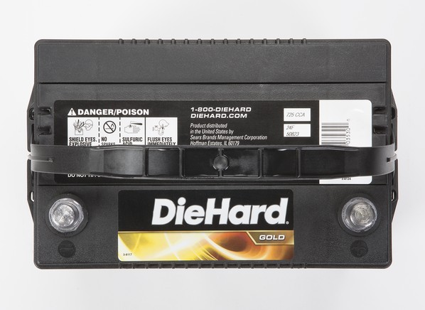 Diehard Gold 50823 North Car Battery Consumer Reports