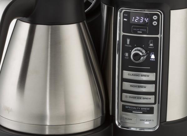 Ninja Coffee Maker Specifications : Consumer Reports - Ninja Bar Brewer CF085
