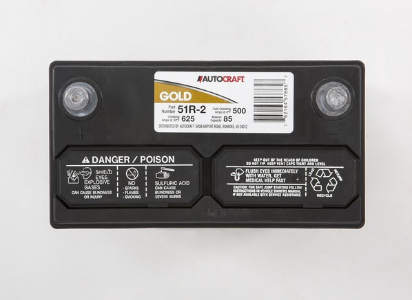 Autocraft Gold 51R-2 Car Battery