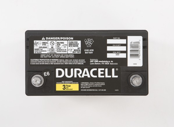 Duracell 51r Car Battery Consumer Reports