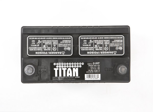 Car Battery Price: Titan 51R Car Battery