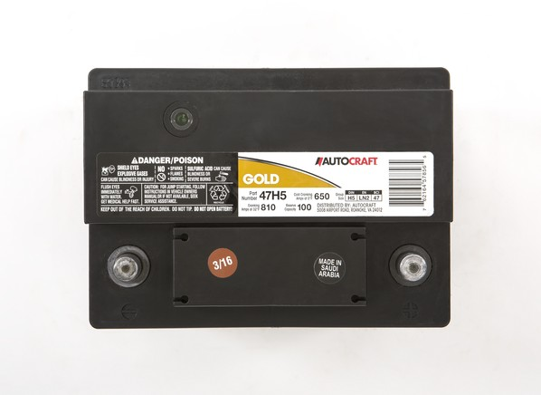 Autocraft Gold 47h5 Car Battery Consumer Reports