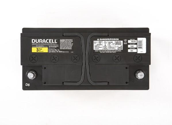 Duracell 49 H8 Car Battery