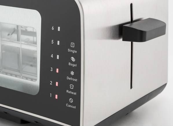 Cuisinart View Pro Glass 2-Slice CPT-3000 Toaster Specs