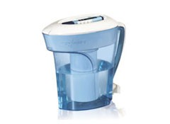 zerowater zp010 10cup pitcher water filter