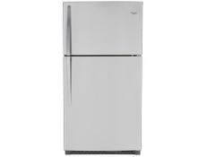 Whirlpool Wrt311fzdw 20 5 White Top Freezer Refrigerator