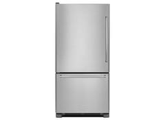 Bottom Freezer Refrigerator. KitchenAid