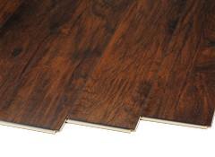 trafficmaster handscraped saratoga hickory 34089 home depot flooring consumer reports. Black Bedroom Furniture Sets. Home Design Ideas