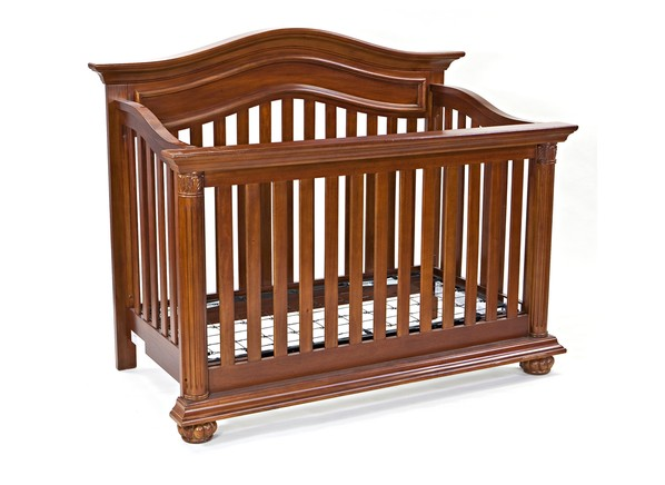 Baby Cache Windsor Dresser White Midcentury Modern