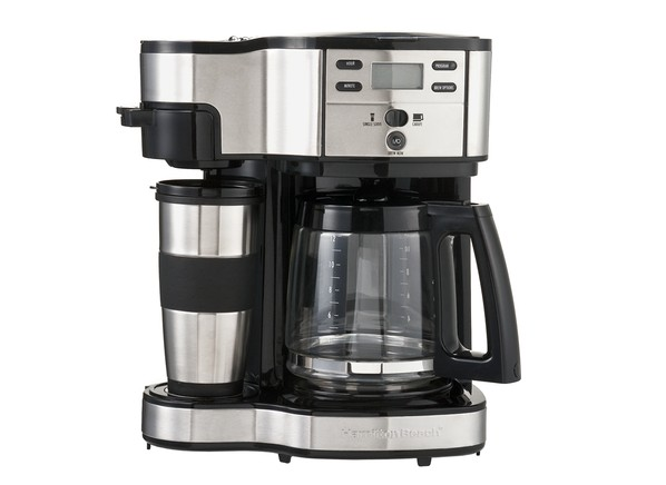 Drip Coffee Maker How Many Scoops : Consumer Reports - Hamilton Beach The Scoop 2-Way Brewer 49980Z
