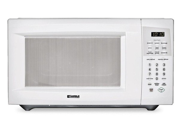 The Contempo Medium Digital Microwave Oven is a stylish addition to your kitchen. Cook, defrost or reheat meals in minutes with this stainless steel microwave oven. This handy household appliance features a variety of single-touch settings, a digital display, a spacious interior and Watts of power.