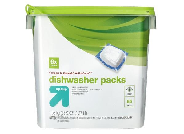 Dishwasher Caked Detergent