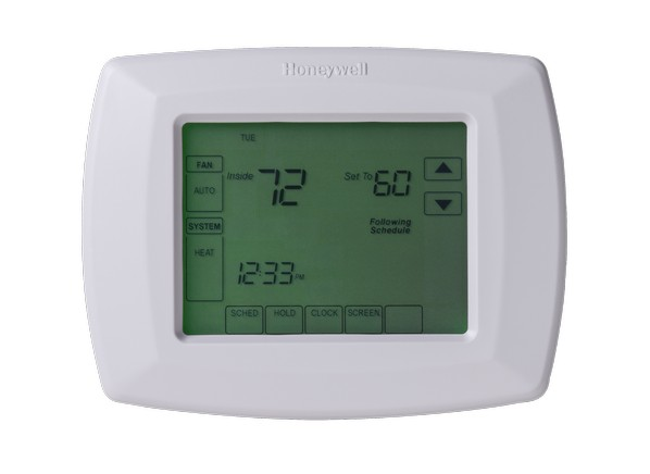 how to set honeywell thermostat to auto