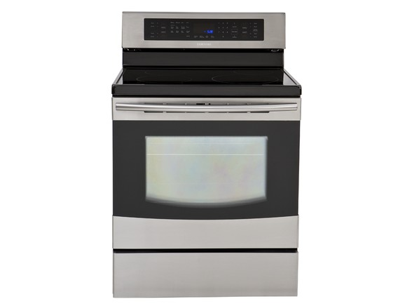 Samsung ne595n0pbsr range prices consumer reports for Glass cooktops pros and cons