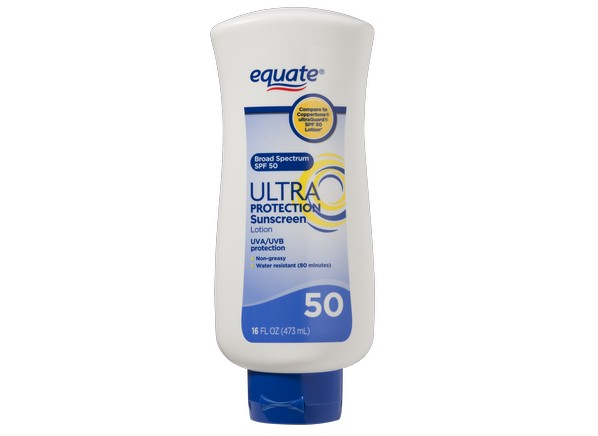 Equate Walmart Ultra Protection Lotion Spf 50 Sunscreen
