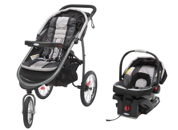 Graco Fast Action Fold Jogger With Car Seat