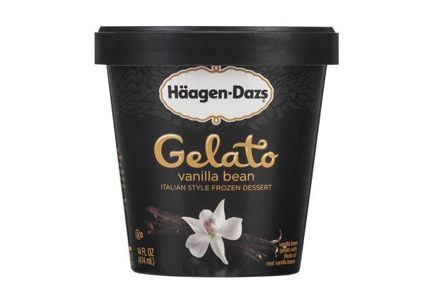 Haagen dazs vanilla bean gelato ice cream frozen yogurt for Gelati haagen dazs