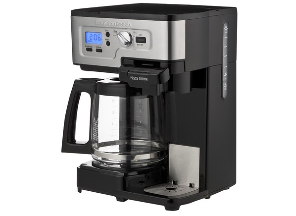 hamilton beach 2way flexbrew coffee maker